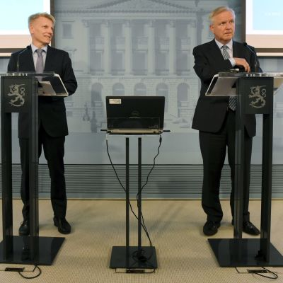 Kimmo Tiilikainen och Olli Rehn