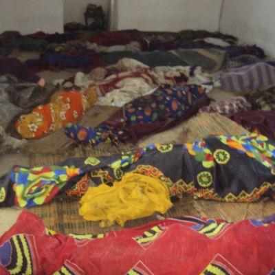 Tiotals människor dödades i byn Reketa i augusti under den pågående konflikten.