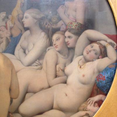 Le Bain turc (Turkiska badet) av Jean-Auguste-Dominique Ingres