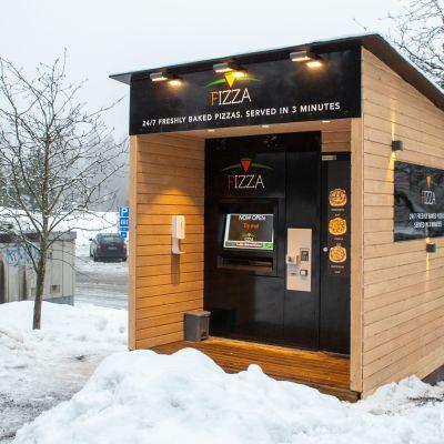 Fizzan pizza-automaatti Kauniaisissa.
