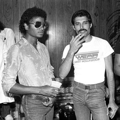 Michael Jackson och Freddie Mercury.