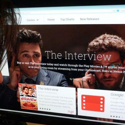Filmen The Interview blev Sonys mest framgångsrika film online.