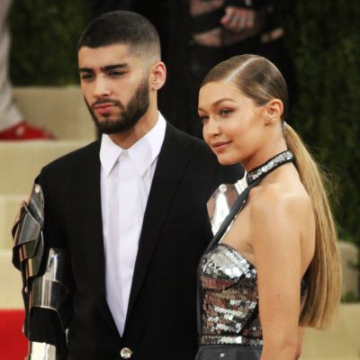 Kuvassa ovat Zayn Malik ja Gigi Hadid toukokuussa.