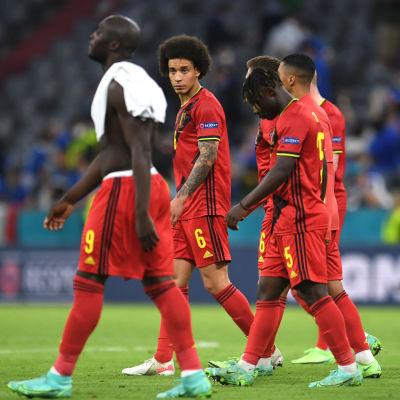 Belgien deppar i EM.