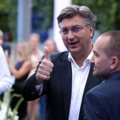 Kroatiens statsminister Andrej Plenković