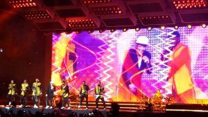Bruno Mars på Helsingforsarenan.