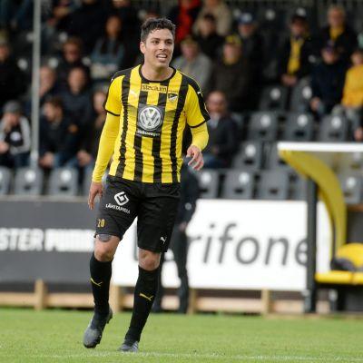 Luis Silva i matchen mot FC Lahti