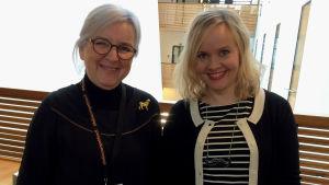 Liisa Syrjälä on ollut monissa kilpailuissa kuuluttajana.
