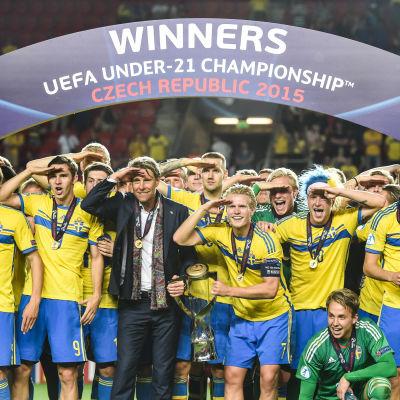 Sverige EM-guld 2015