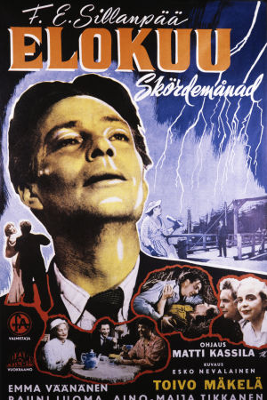 Elokuu-elokuvan juliste, pääosassa Toivo Mäkelä