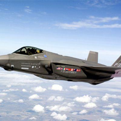 F-35 Lightning II esittelyssä heinäkuussa 2007.