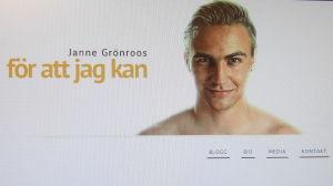 Janne Grönroos hemsida