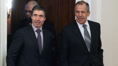 Anders Fogh Rasmussen på besök i Moskva