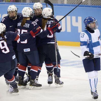 Finland-USA, OS 2014