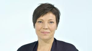 Yles meteorolog Anne Borgström