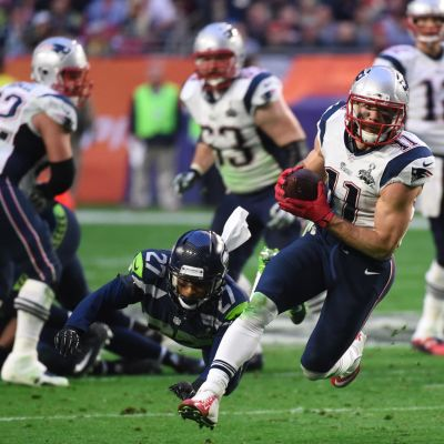 Julian Edelman i Super Bowl