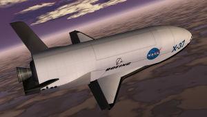 Rymdflygplanet Boeing X-37.