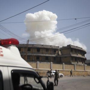 Bilbombsexplosion i Somalias huvudstad Mogadishu