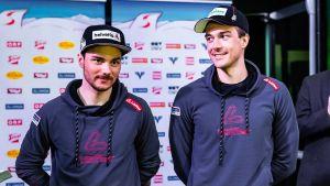 Dominik Baldauf och Max Hauke.