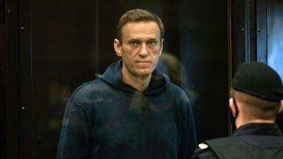 Venäläinen oppositiojohtaja Aleksei Navalny.
