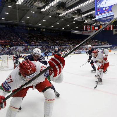 Vitryssland mot USA i Tjeckien 2015