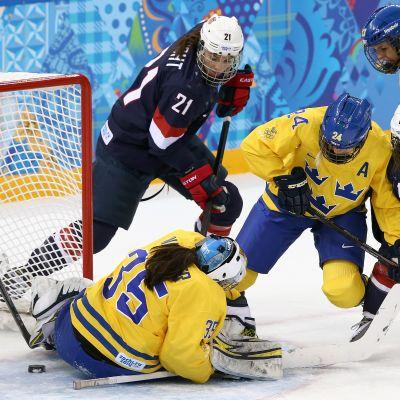 Sverige-USA, semifinal, OS 2014