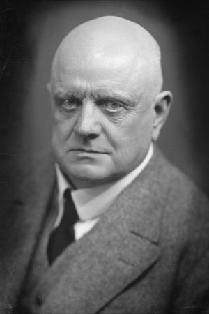 Jean Sibelius vuonna 1925 (kuva Ivar Helander)
