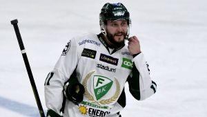 Jesse Virtanen i Färjestads BK.
