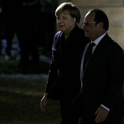 Merkel ja Hollande