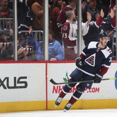 Joonas Donskoi ja Mikko Rantanen tehokkaina NHL:ssä