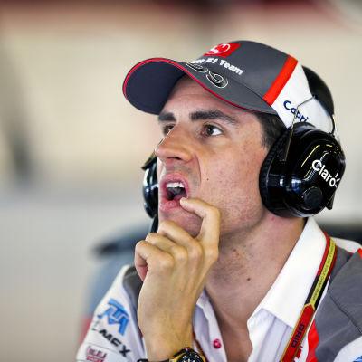 Tyske Adrian Sutil är Williams nya F1 reservförare