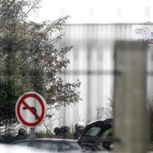 Polispådrag i Paris