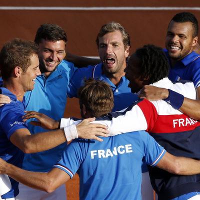 Frankrike davis cup 2014