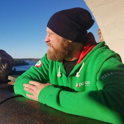 Robert Helenius på Åland, hösten 2018.