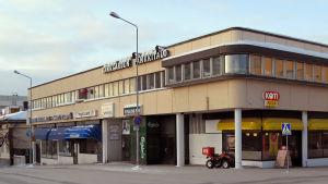 Terrazzohörnet i Jakobstad på vintern