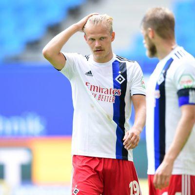 Joel Pohjanpalon HSV ei nouse Bundesliigaan