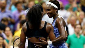 Serena och Venus Williams möttes i US Open.