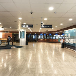 Folktom Silja Line terminal i Åbo hamn.