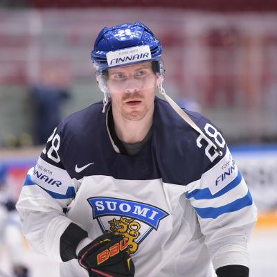 Anssi Salmela under ishockey-VM 2016.
