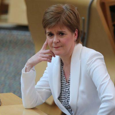 Skotlannin pääministeri Nicola Sturgeon.
