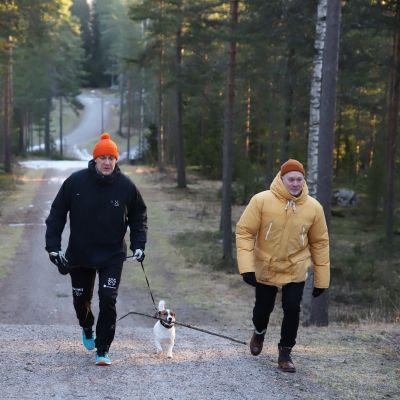 Hermanni Skofelt ja Mikko Kittelä
