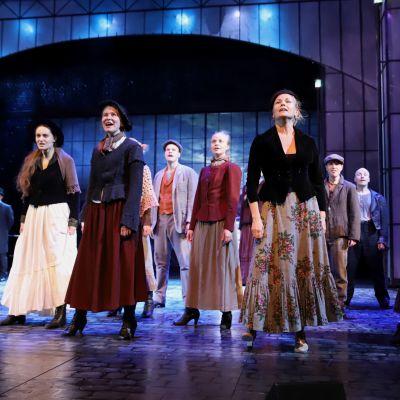 Lahden kaupunginteatterin harjoitukset Jekyll&Hyde-musikaalissa