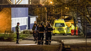 Två dödades i en knivhuggning på en skola i Kristiansand i Norge den 5 december 2016.