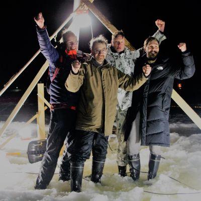 Maailman suurin jääkaruselli syntyi Lappajärvelle