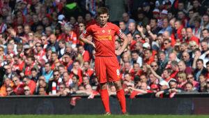 Steven Gerrard tar farväl efter 708 matcher för Liverpool