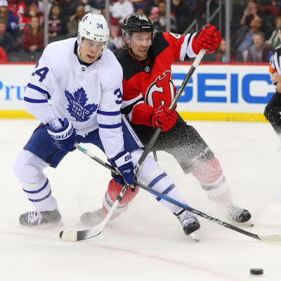 Devils och Sami Vatanen slog Toronto och Auston Matthews i en ishockeymatch.