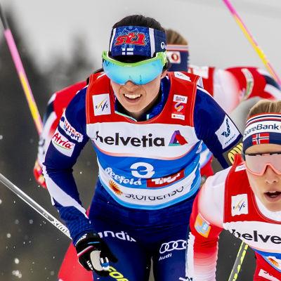 Krista Pärmäkoski försöker ta revansch i Holmenkollen efter ett misslyckat VM.