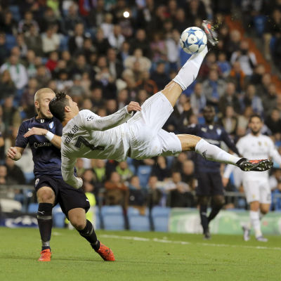 Cristiano Ronaldo, Real Madrid-Malmö FF, 8.12.2015.