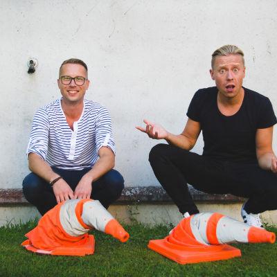 Magnus Hansén och Nicke Aldén.