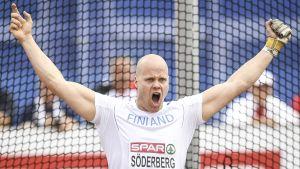 David Söderberg är klar för OS-finalen i slägga.
